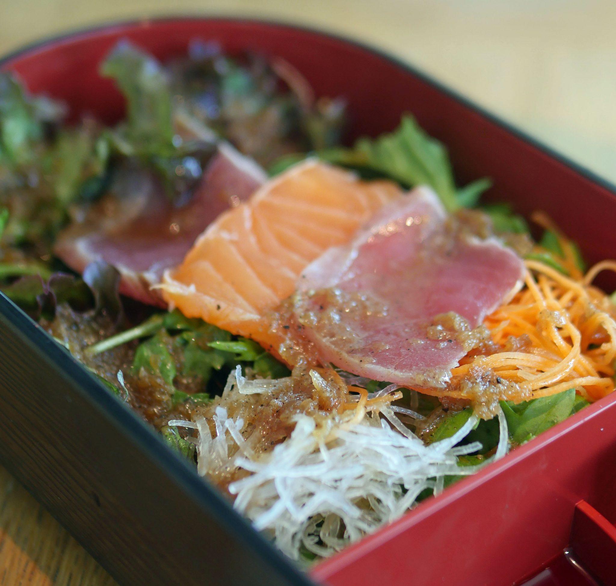 Sashimi Salad Nobu Park Lane