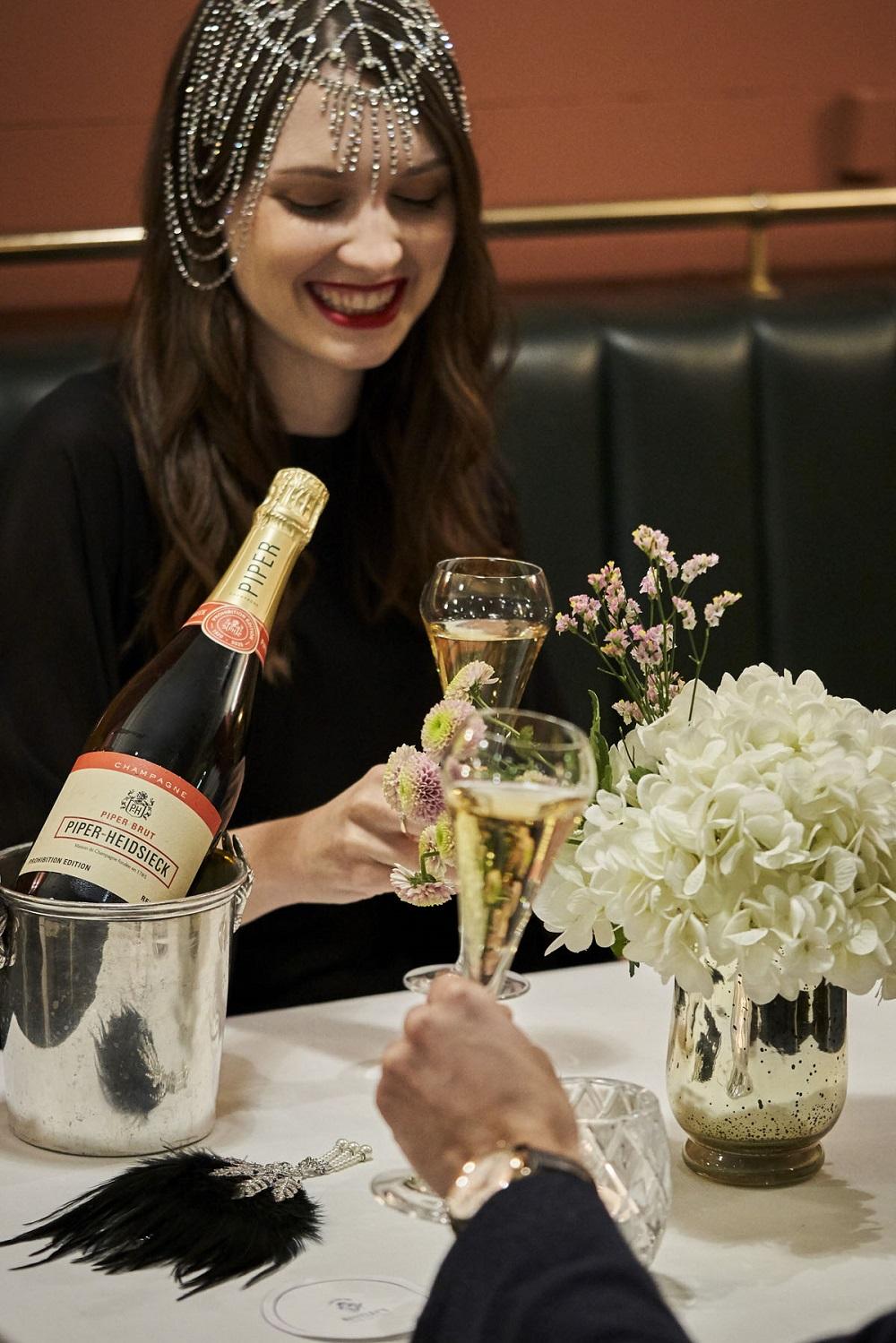 Piper_Heidsieck_Prohibition_Bentleys-girl-champagne in bucket