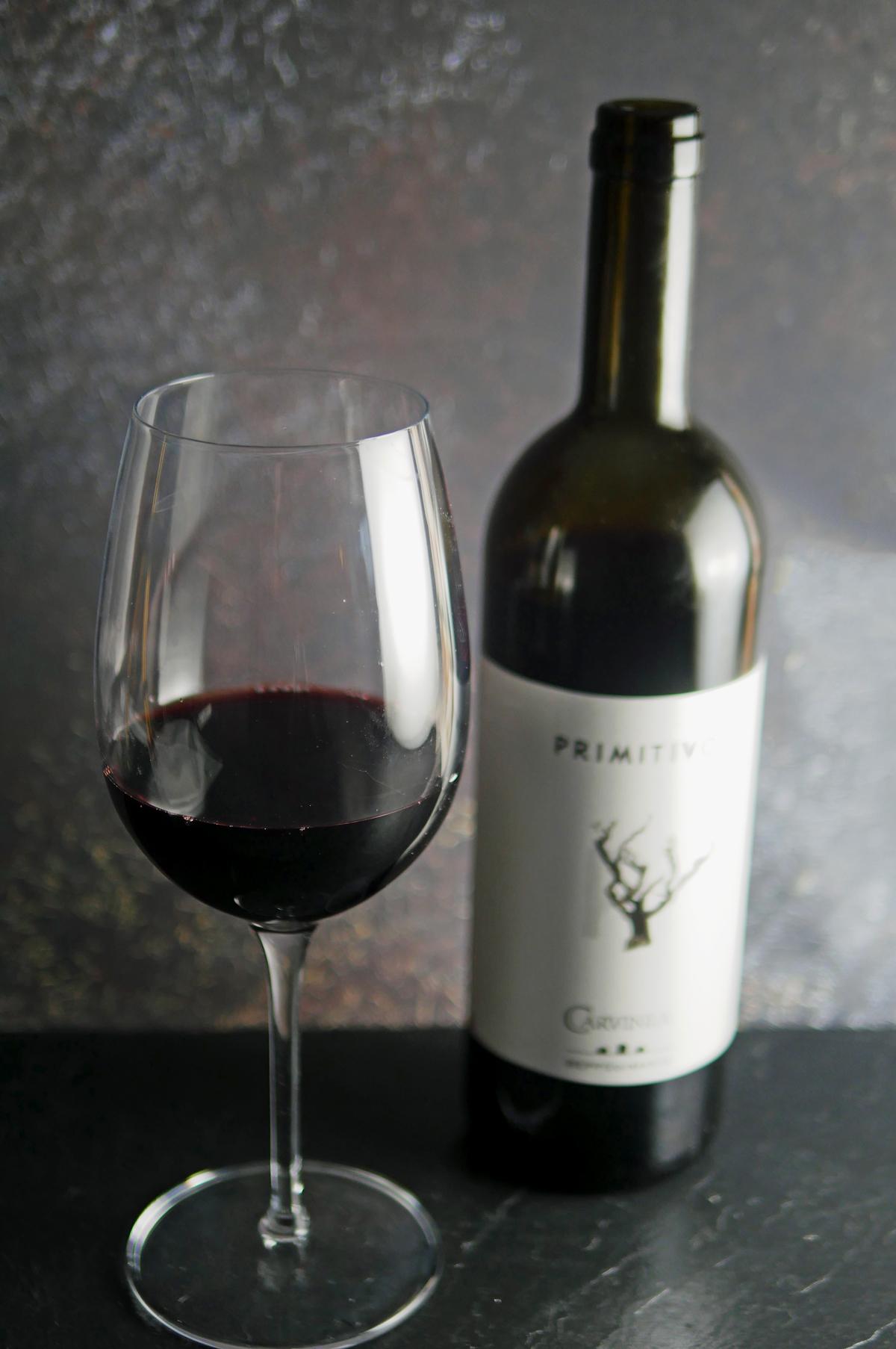 Primitivo Wine from Carvinea, Puglia