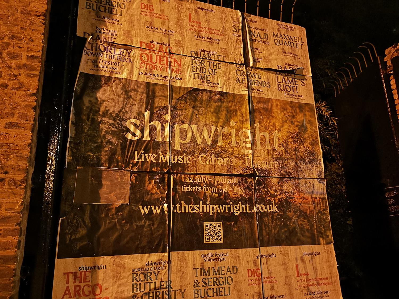 Shipwright Deptford poster