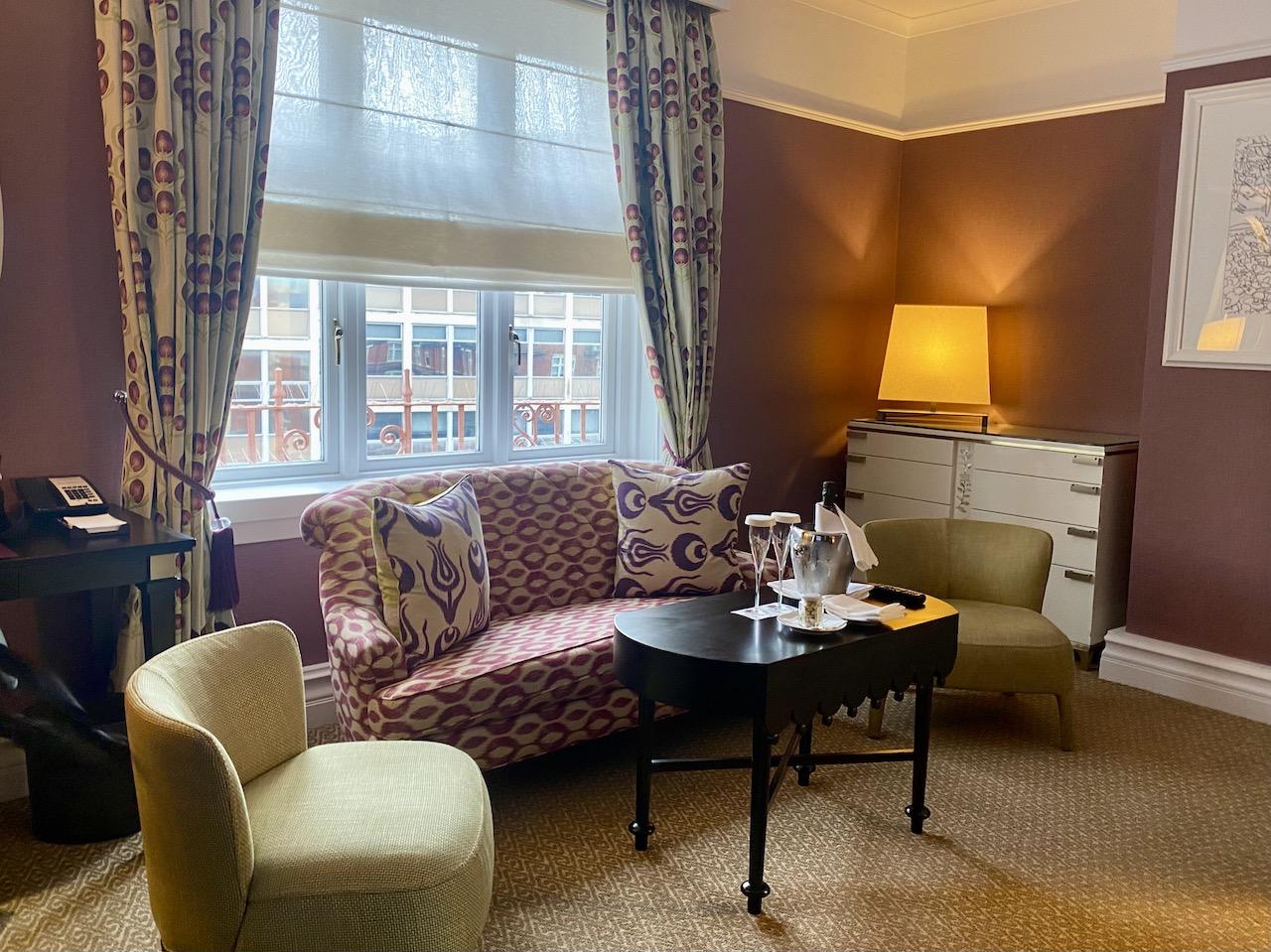 St Ermin's Hotel suite
