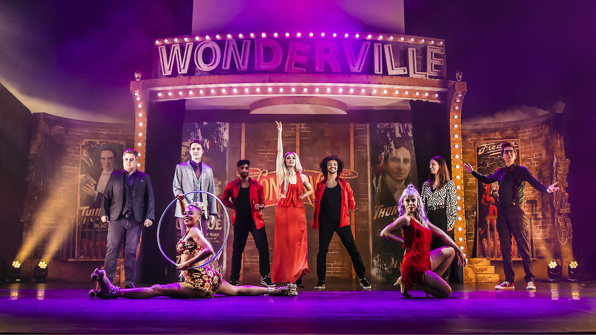 The cast of Wonderville Photo Pamela Raith