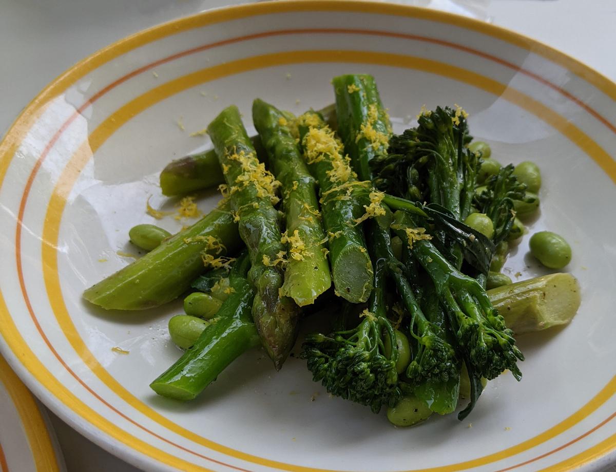 Vegetables at Granger
