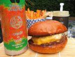 Wagyu burger kit plus drinks