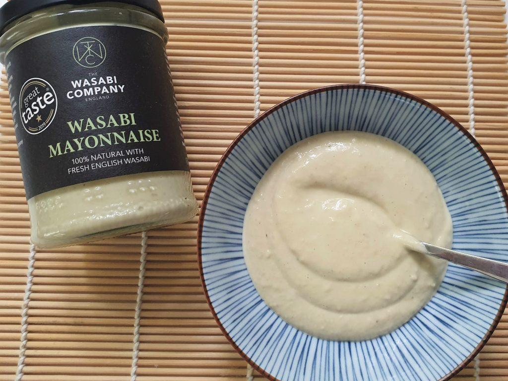 Wagyu burger kit wasabi mayo