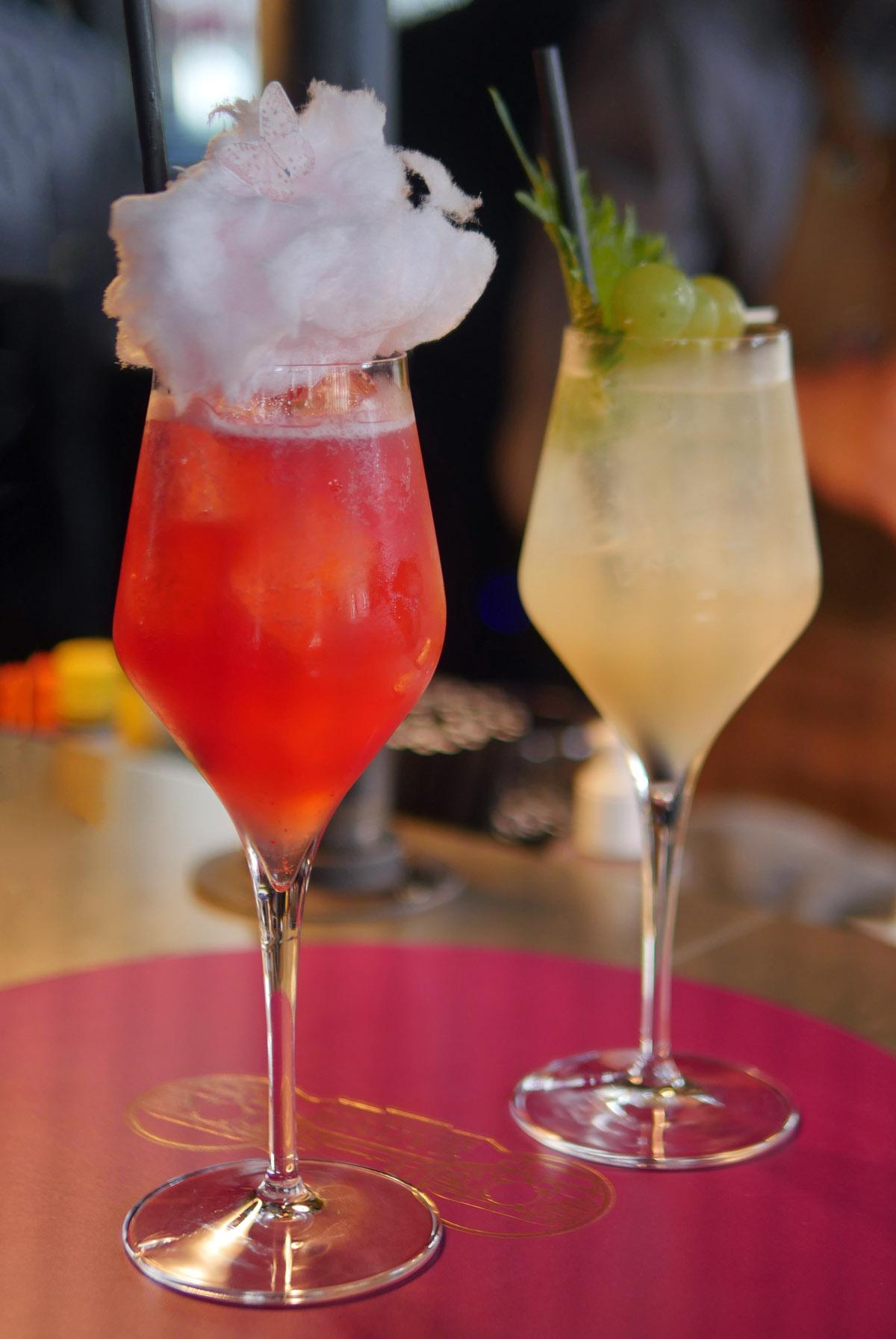 cocktails at Magenta Restaurant