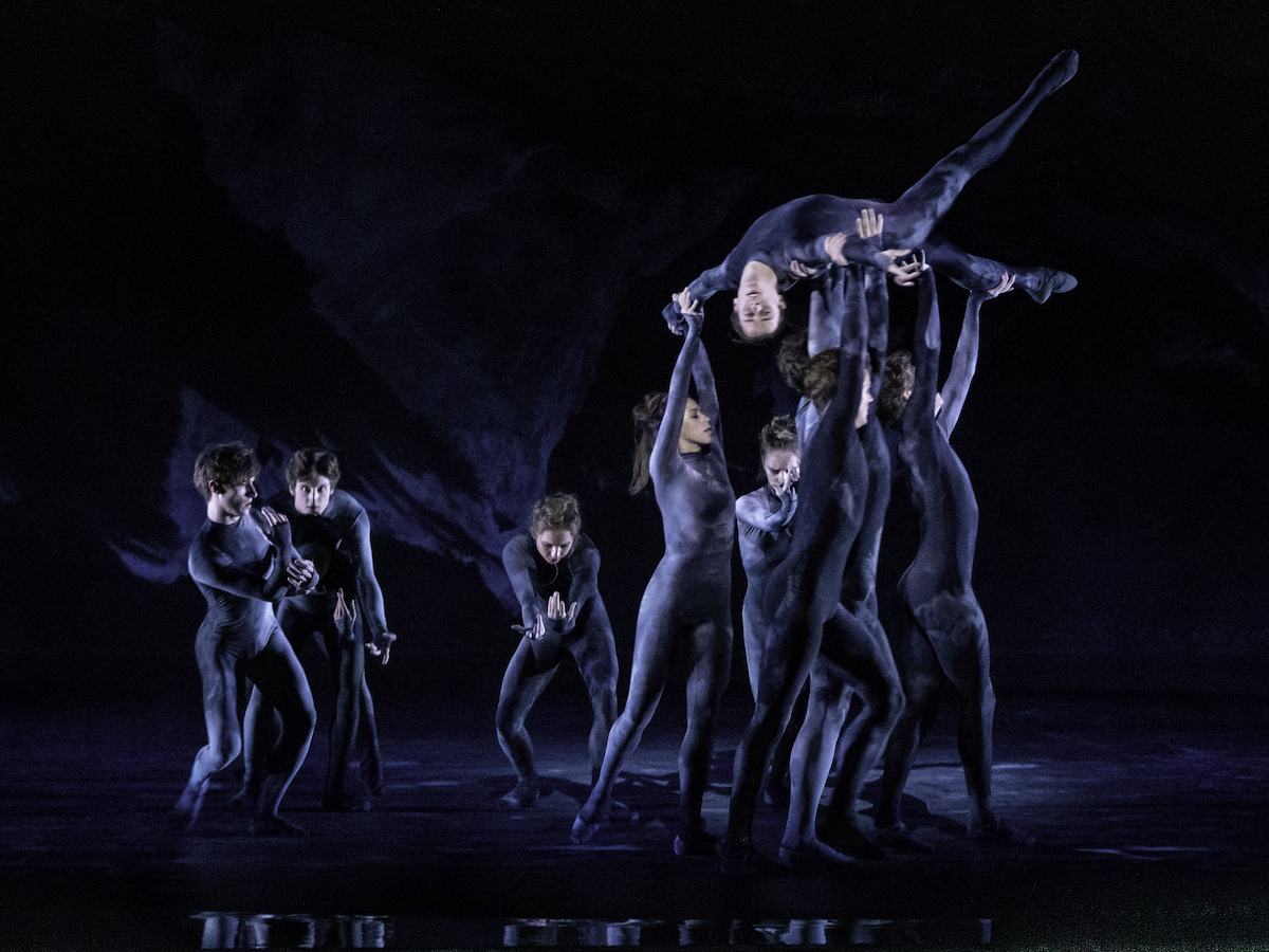 Artists of The Royal Ballet in Wayne McGregor's The Dante Project 2019. Photograph by Cheryl Mann