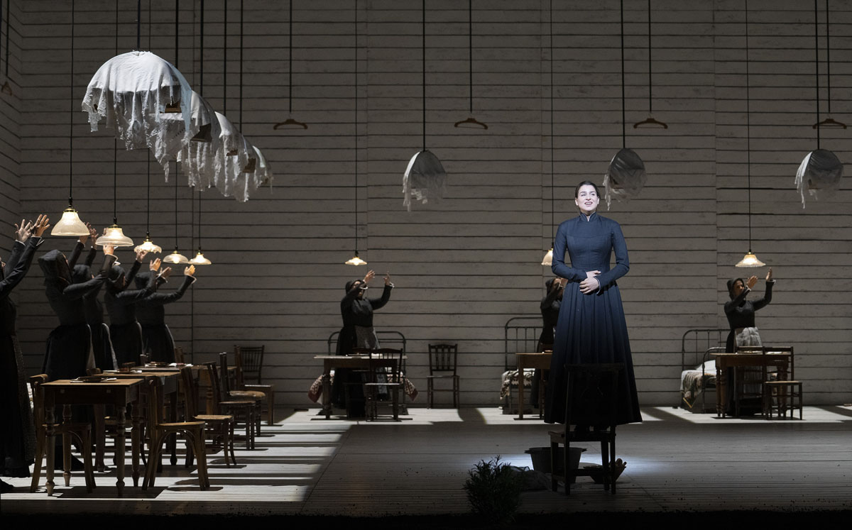 A scene from Jenufa by Leo Janacek @ Royal Opera House. Directed by Claus Guth. (Opening 28-09-2021)