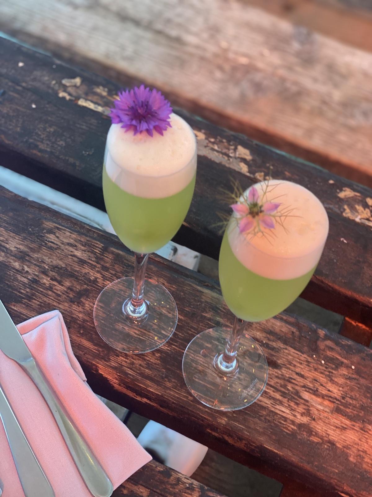 Barge East cocktails