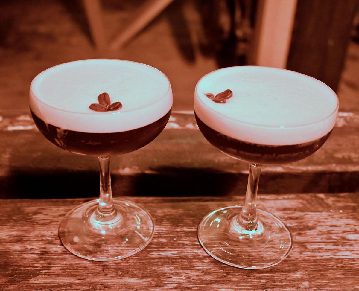 Barge East espresso martinis