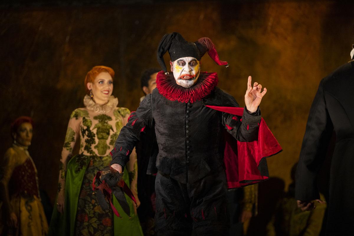 Carlos Álvarez as Rigoletto Autumn 2021, Royal Opera House