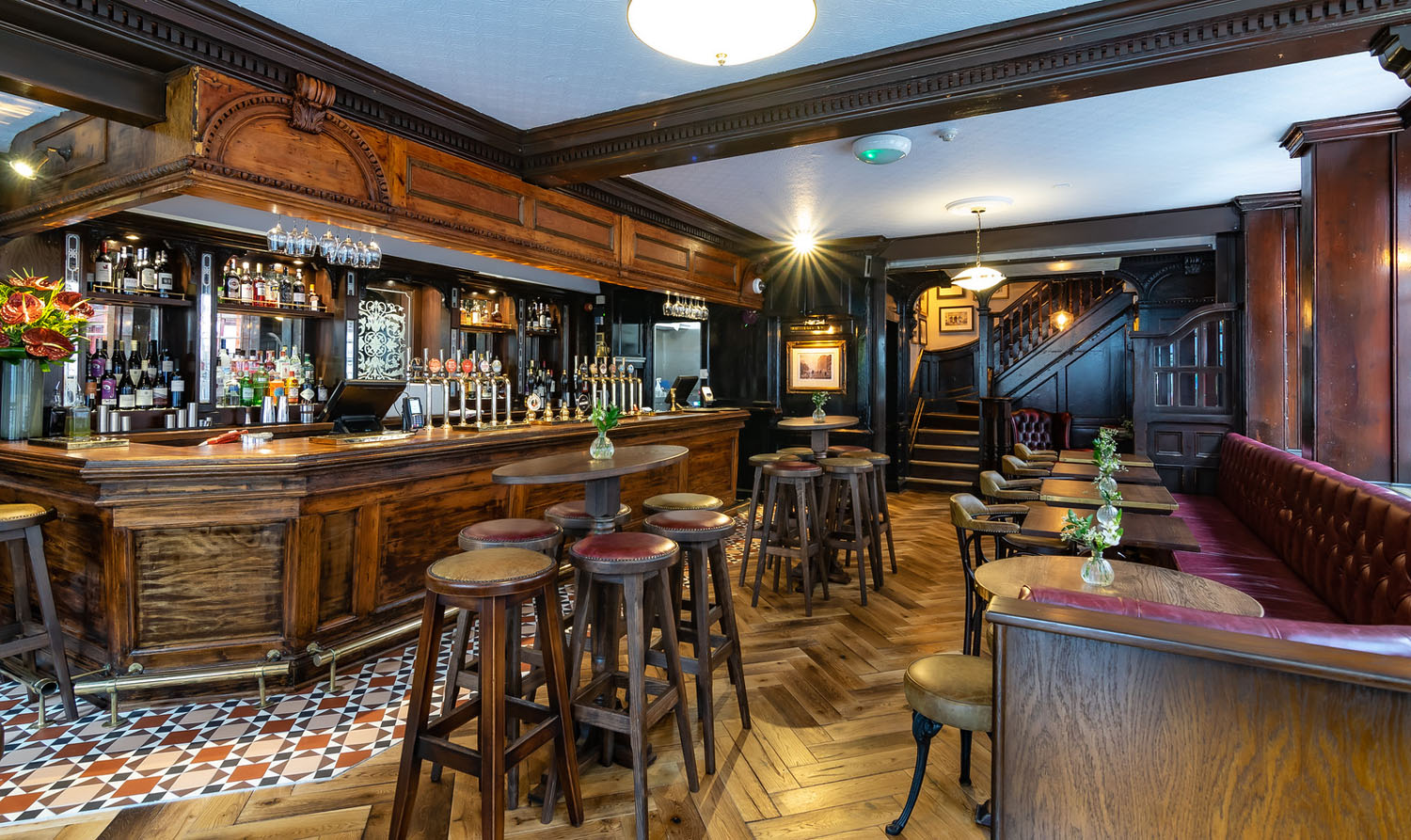 The Chesterfield Arms - Bar