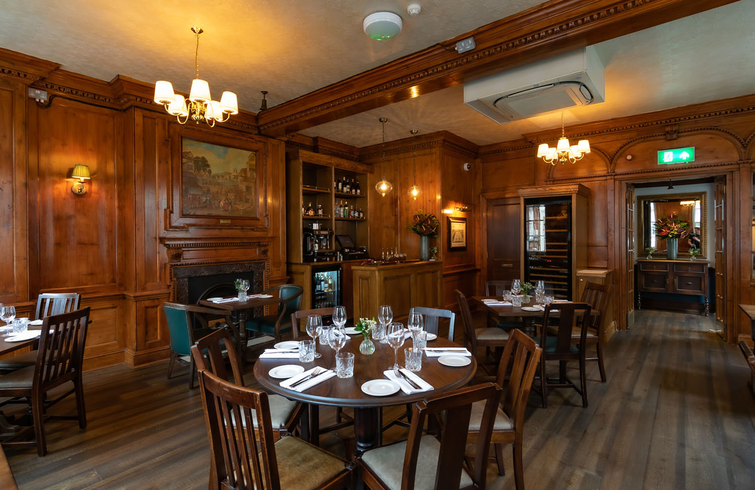 The Chesterfield Arms Dining Room