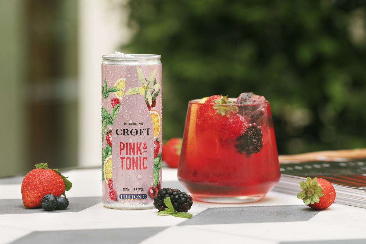 Croft Pink & Tonic Ready to Drink Can - Lifestyle (08)- s