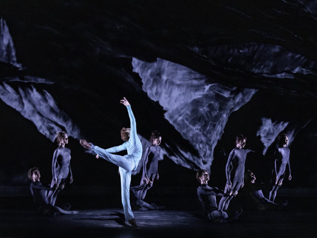 Edward Watson artists of The Royal Ballet in Wayne McGregors The Dante Project 2019 Photograph by Cheryl Mann