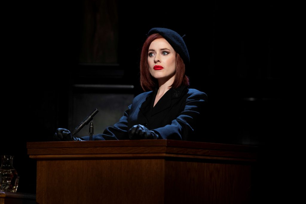 Emer McDaid in Witness for the Prosecution