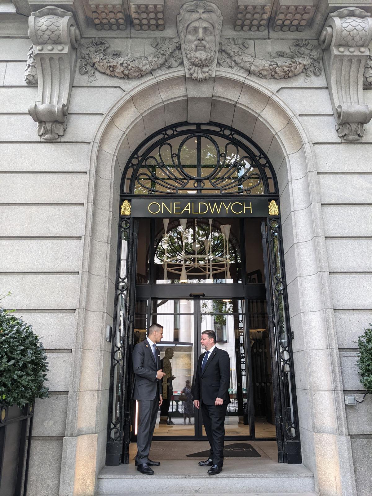 Entrance - One Aldwych