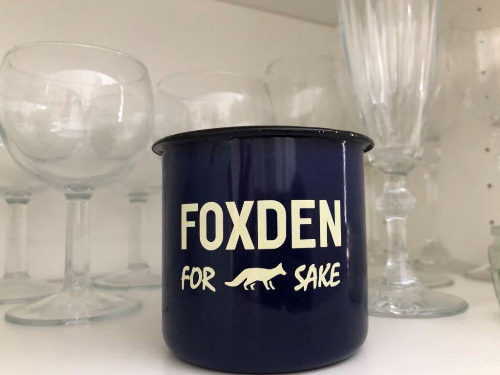 Foxden logo cup