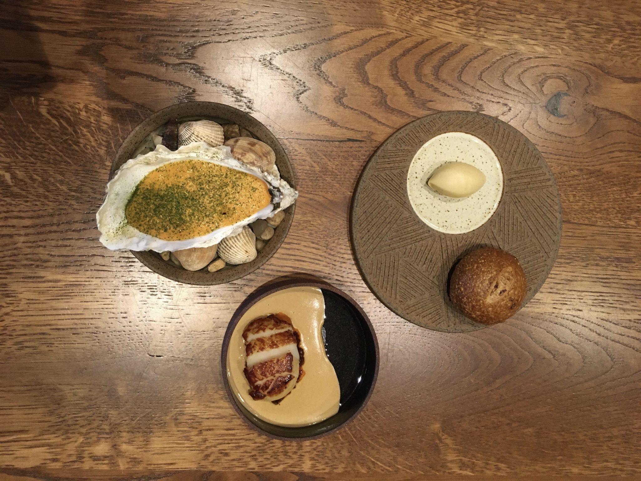 Akoko Gambian oyster and ofe nsala