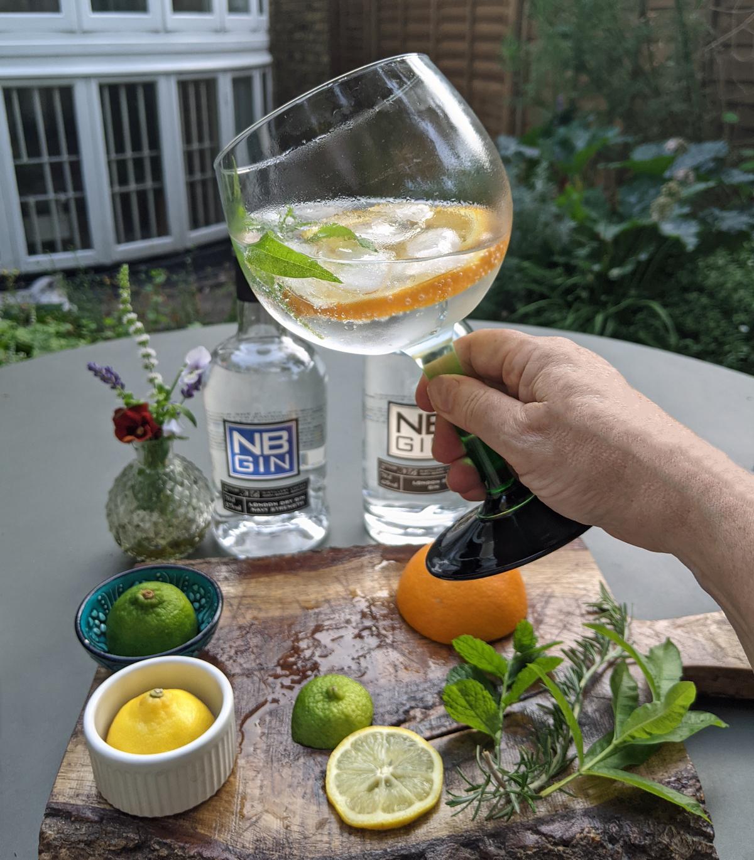 Gin Garnish - Orange and Lemon Verbena