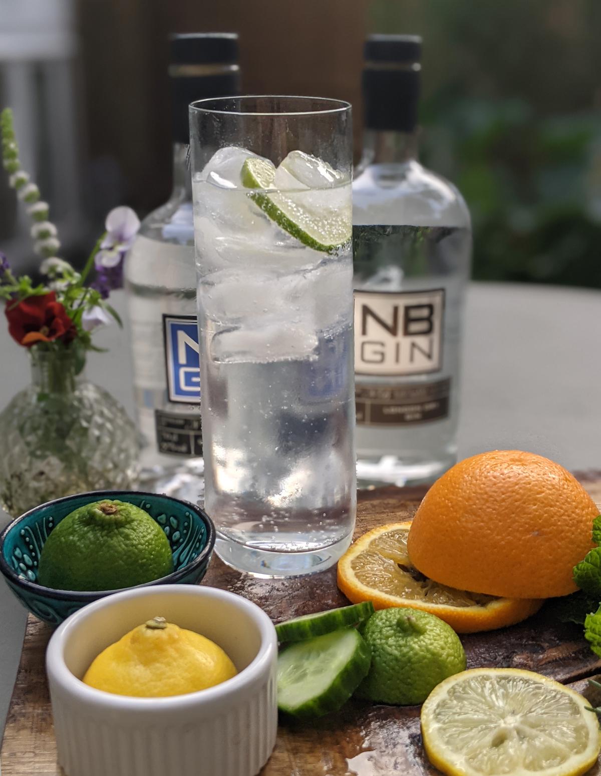 Gin Garnish - lime