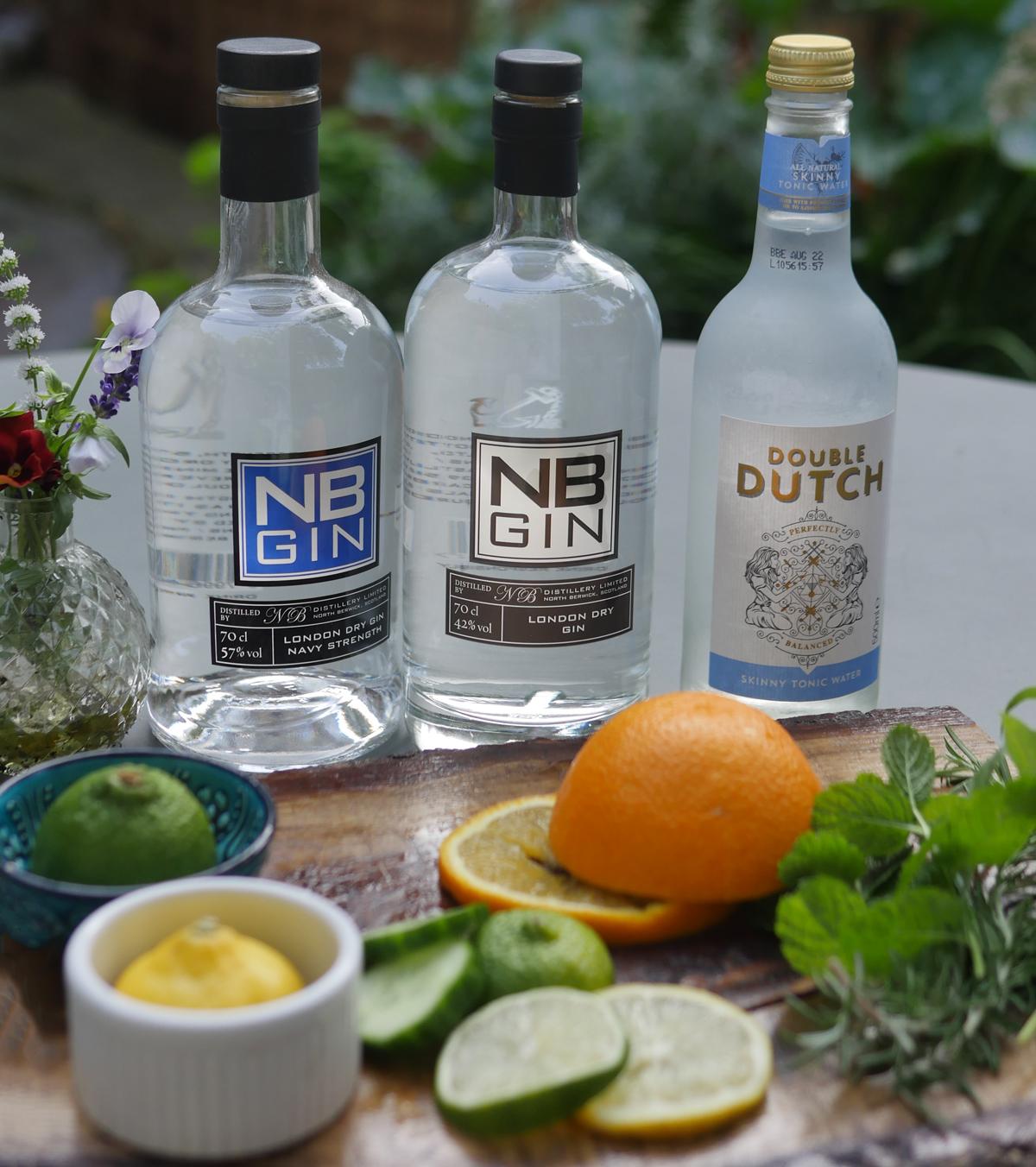 Gin Garnishes for NB Gin