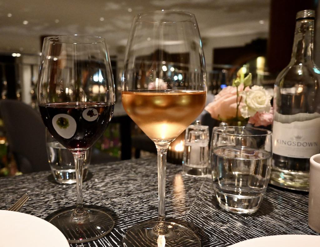 Indigo Restaurant - wine pairing