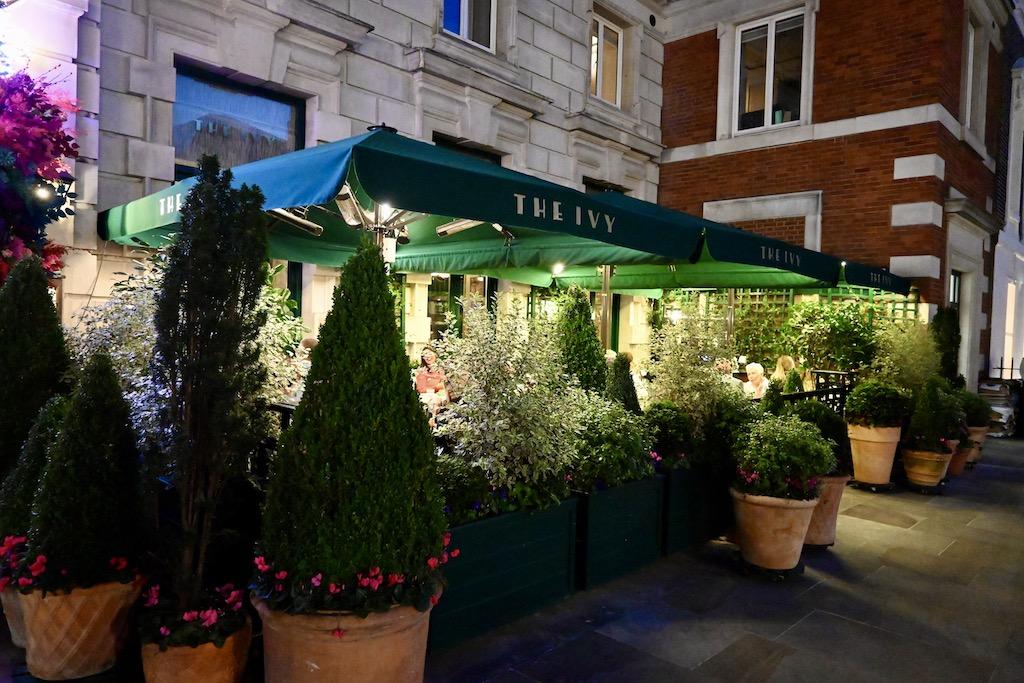 Ivy Market Grill Henretta Street