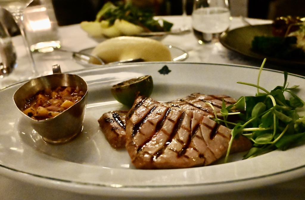 Ivy Market Grill Yellowfin tuna