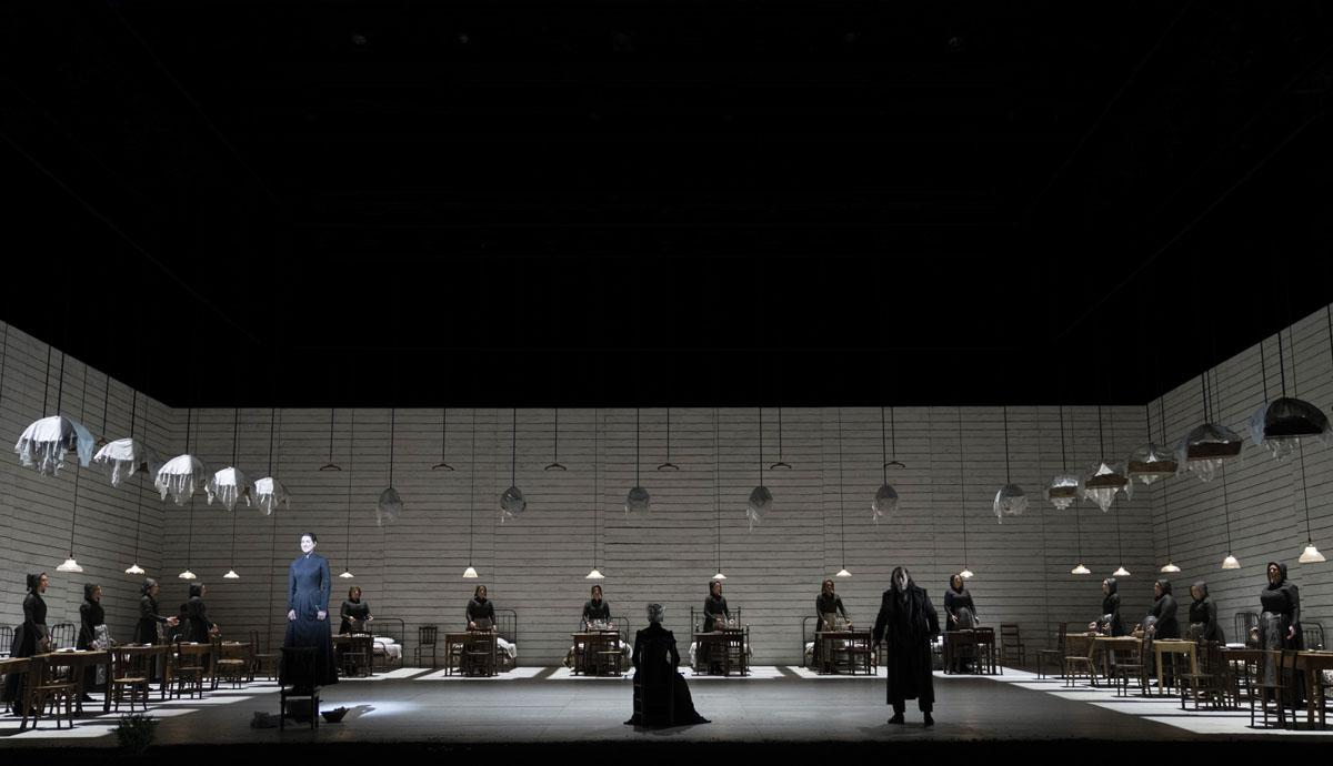 A scene from Jenufa by Leo Janacek @ Royal Opera House. Directed by Claus Guth. (Opening 28-09-2021) ©Tristram Kenton 09-21