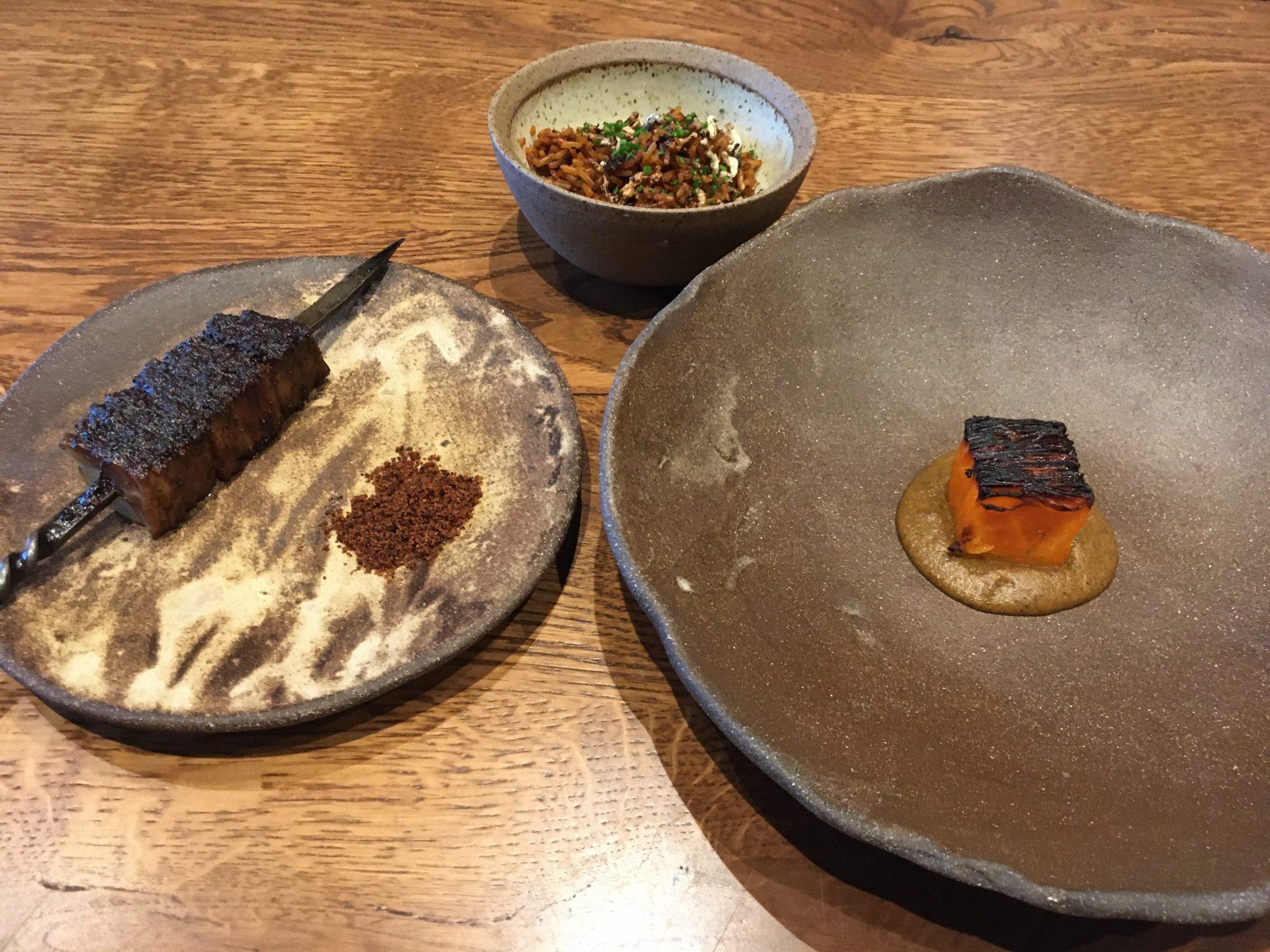 Akoko Jollof rice and suya