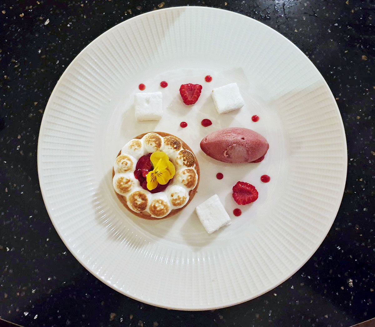 Lemon meringue pie - Piazza Italiana
