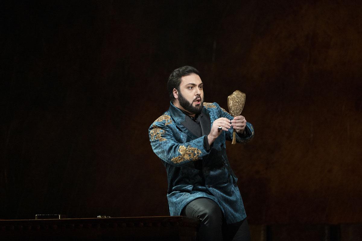 Liparit Avetisyan as the Duke of Mantua - Royal Opera House Covent Garden, 2021