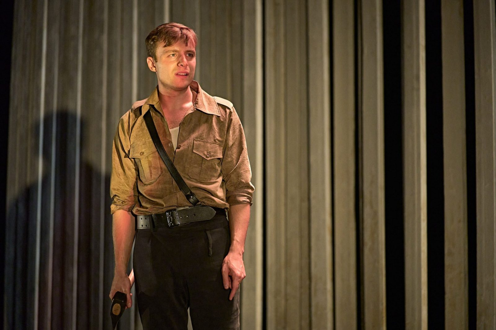 Luke Thallon (Him) in Camp Siegfried at The Old Vic_Photo by Manuel Harlan