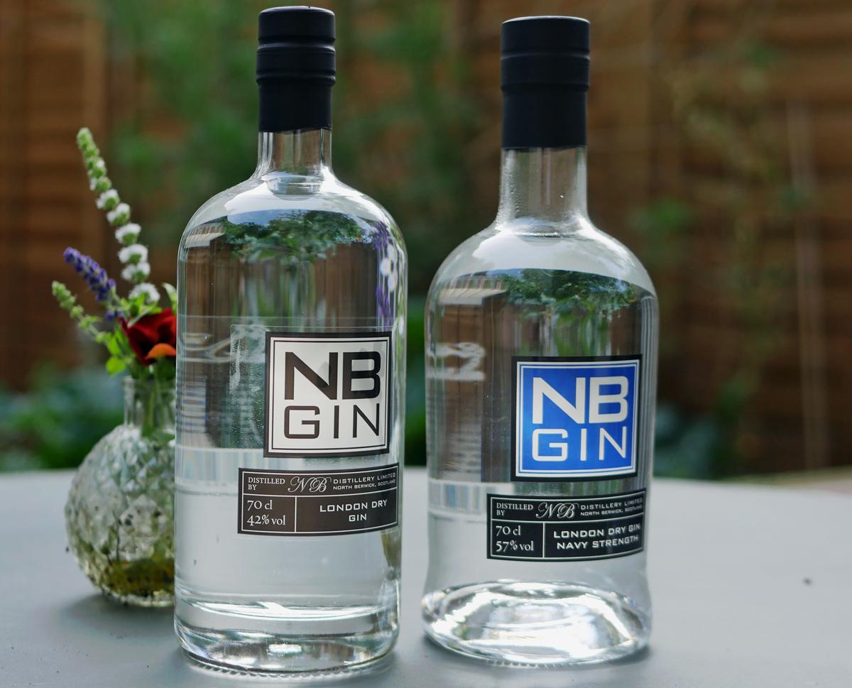 NB Gin in Bottles