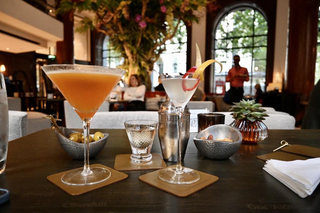 One Aldwych Lobby Bar - cocktails