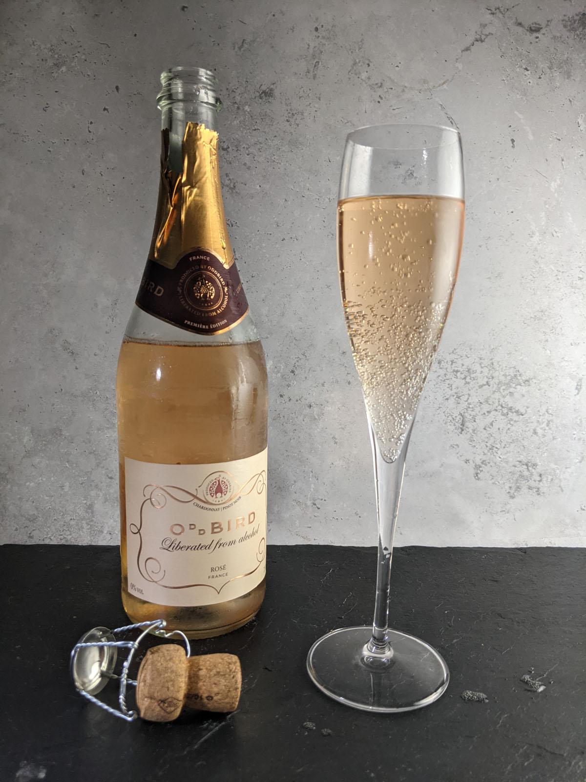 Rose Sparkling Wine from Oddbird