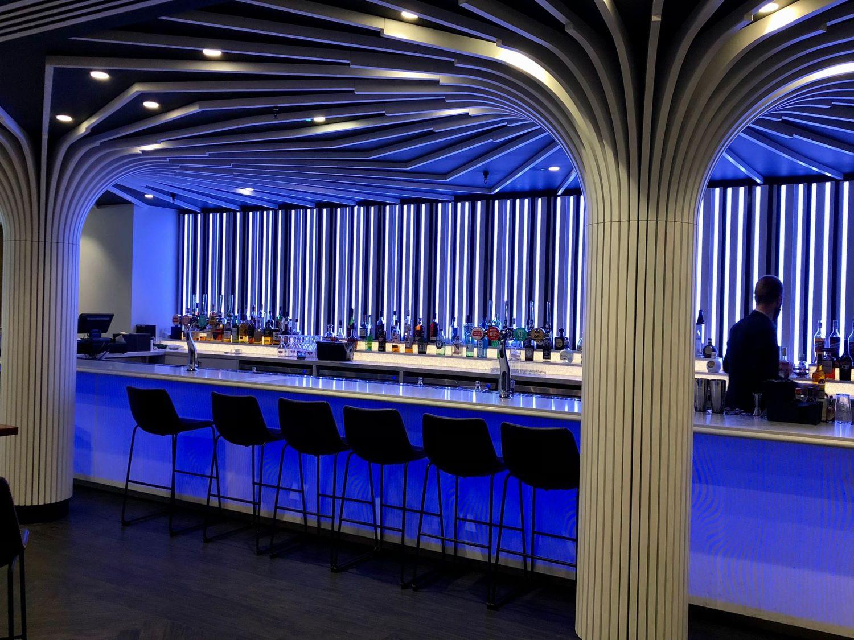 Interior of STK Steakhouse, Westminster