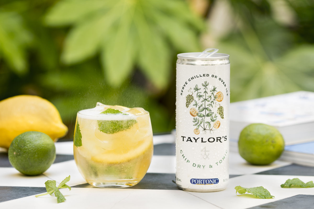 Taylor's Chip Dry & Tonic Ready to Drink Can - Lifestyle cocktail (02) (1)- s