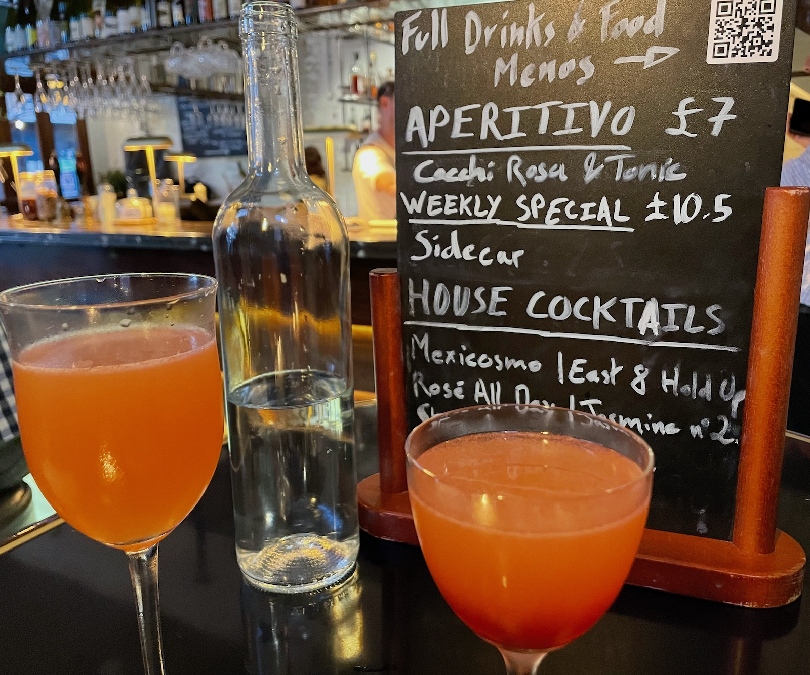 The Buxton Cocktails