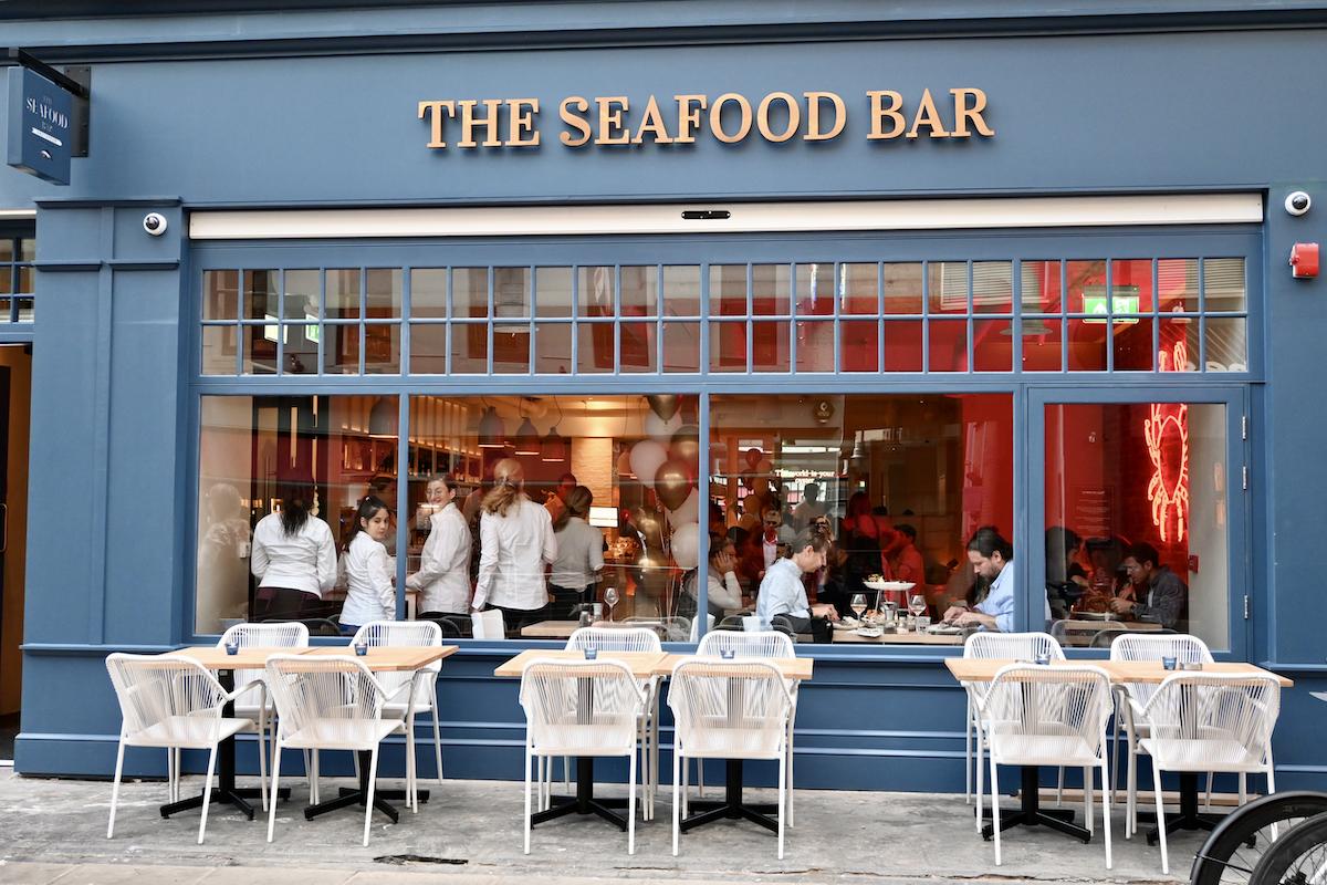 The Seafood Bar exterior
