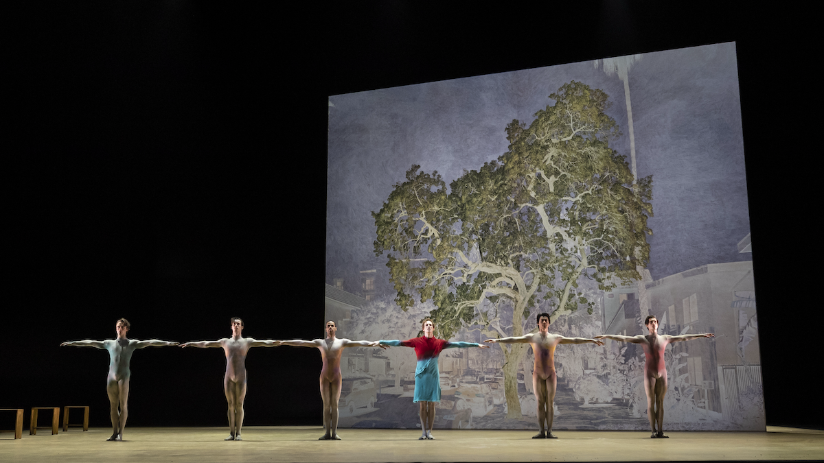 Artists of the Royal Ballet in The Dante Project, The Royal Ballet ©2021 ROH. Photograph by Andrej Uspenski 2