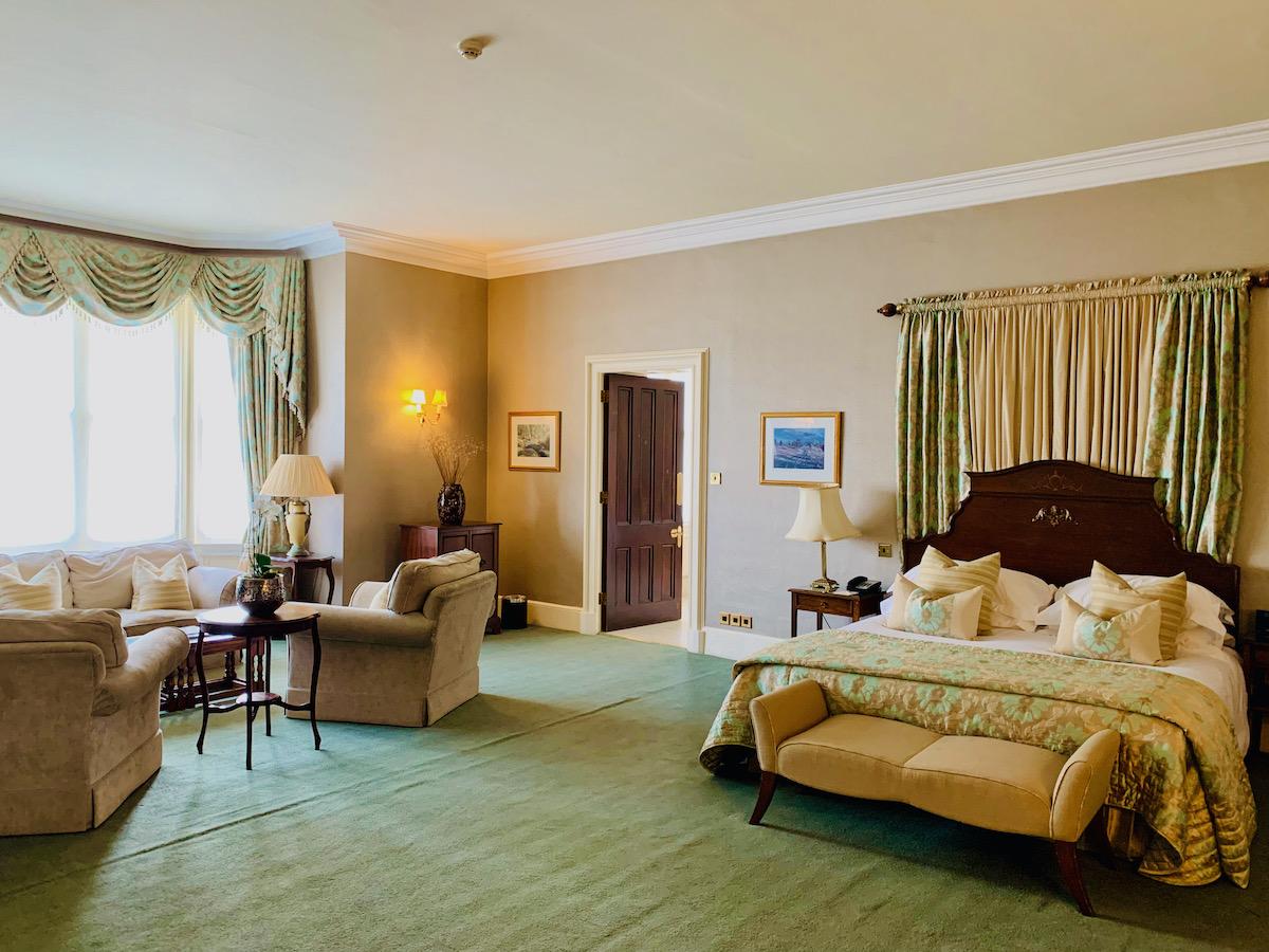 Ashdown Park Hotel bedroom suiote