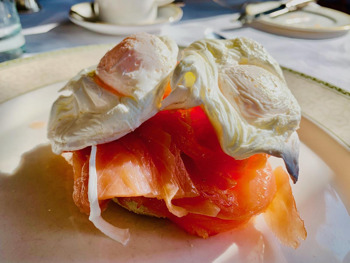 Ashdown Park Hotel breakfast
