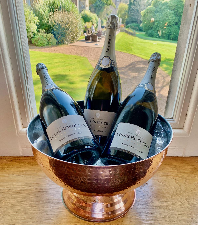 Ashdown Park Hotel champagne
