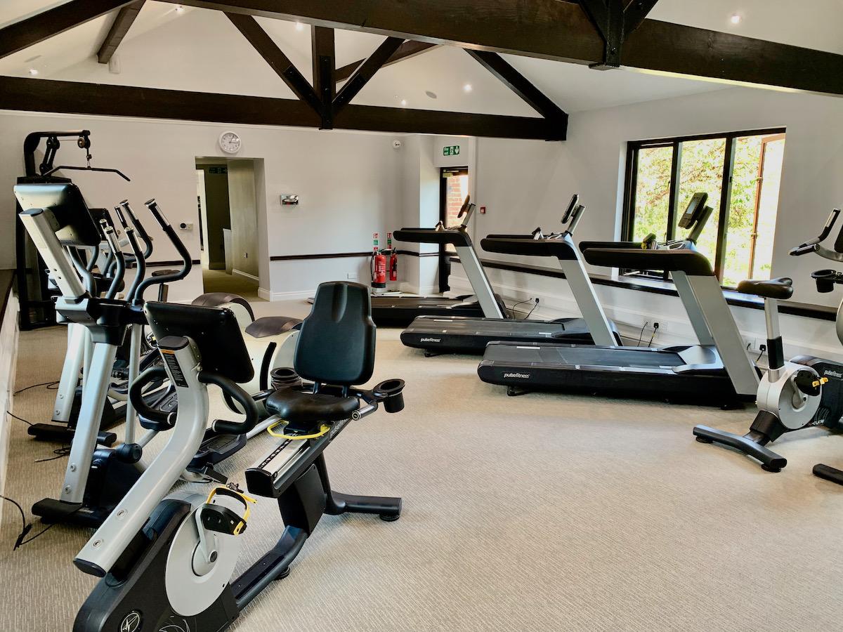 Ashdown Park Hotel gym