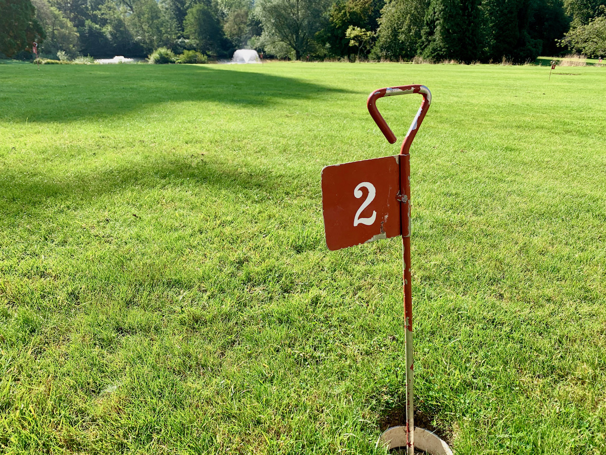 Ashdown Park Hotel pitch and putt
