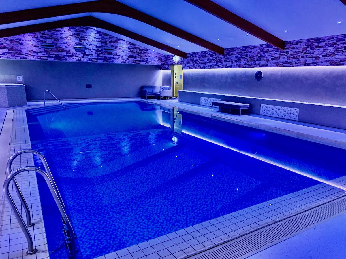 Ashdown Park Hotel pool