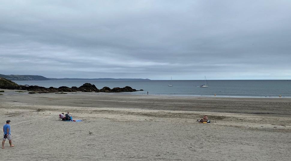 East Looe Beach Cornwall