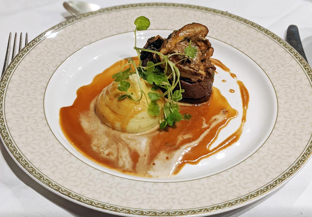 Beef at Tylney Hall